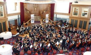 Titanic 100th anniversaryUlster Youth Orchestra at the opening of the new Titanic Belfast tourism project
