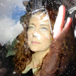 Rebekah Brooks arrives at the High Court in London, where she is giving evidence to the Leveson Inquiry