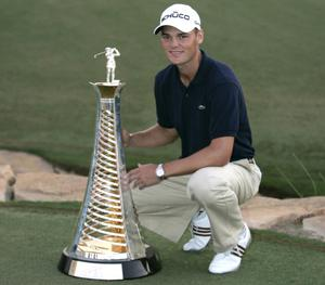 Martin Kaymer joined the greats of European golf by winning the money-list crown on the final day of the season at the Dubai World Championship