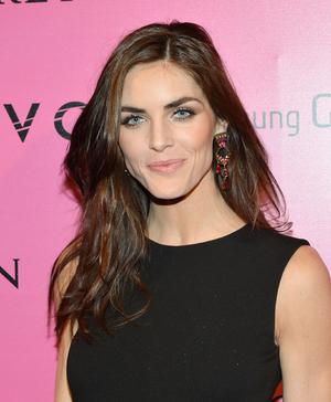 NEW YORK, NY - NOVEMBER 07:  Model Hilary Rhoda attends Samsung Galaxy features arrivals at the official Victoria's Secret fashion show after party on November 7, 2012 in New York City.  (Photo by Slaven Vlasic/Getty Images for Samsung Galaxy)