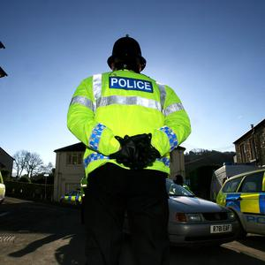 Police are quizzing two men arrested on suspicion of murder after the death of a 27-year-old woman