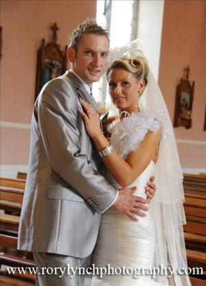 """Marcella Connolly & Colum Monahan married on 4thJune in Newtownbutler Co Fermanagh. Reception was held in Slieve Russell Hotel Ballyconnell.  <p><b>To send us your Wedding Pics <a  href=""""http://www.belfasttelegraph.co.uk/usersubmission/the-belfast-telegraph-wants-to-hear-from-you-13927437.html"""" title=""""Click here to send your pics to Belfast Telegraph"""">Click here</a> </a></p></b>"""