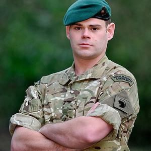 Corporal David O'Connor of 40 Commando died while on patrol in Helmand Province (MoD/Crown Copyright/PA)