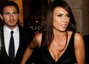 26.11.10. Picture by David Fitzgerald. The 2010 GO Belfast awards which took place last night in the Europa Hotel. Christine Bleakley arriving with Frank Lampard