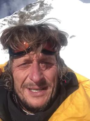Disappointed: Noel Hanna was unable to reach the summirt of K2 in winter