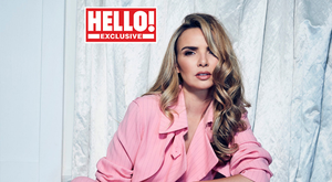 Nadine Coyle on the cover of Hello! magazine