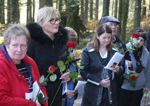 A special memorial service was held in Ballypatrick Forest, Ballycastle to remember murdered German backpacker Inga Maria Hauser