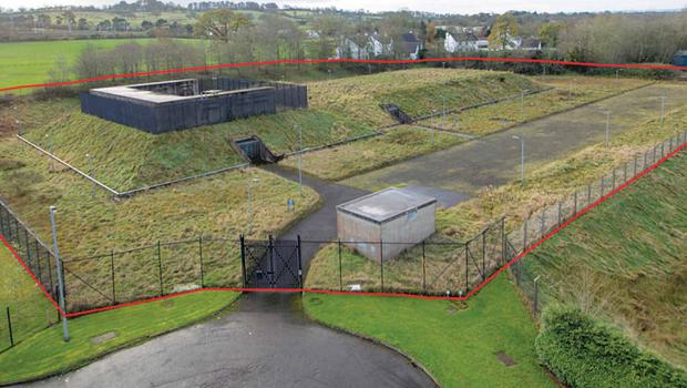 The nuclear bunker that was built during the cold war