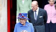 The Queen and Prince Philip in Edinburgh yesterday