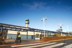 Vincent McGeough)and James Woods were arrested by customs officers close to East Midlands airport