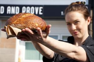 Knead and Prove baker Rachel Kirk is asking customers to 'beep for bread'