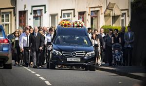 The funeral of Shea Martin