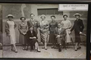 Staff at the store in 1957