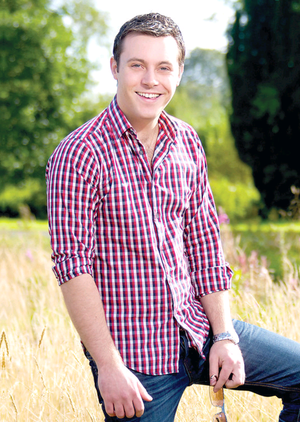 Nathan Carter is releasing his first Christmas collection on CD