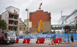 The neighbouring Metropole building has already been demolished, sparking outrage on social media