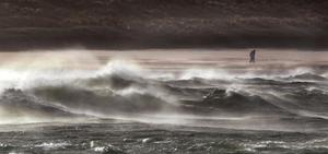 The vicious swell at Portstewart