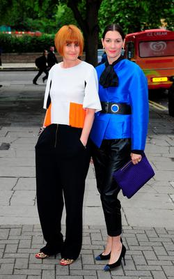 Ground breakers: Mary Portas and with her partner Melanie Rickey. They became one of the first couples in the UK to convert their civil partnership to a same-sex marriage