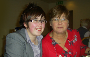 Lyra McKee and her mother Joan