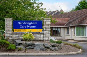Sandringham Care Home in Portadown where residents and staff have tested positive for Covid-19