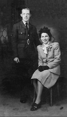 The late Alex Smith with his wife Lily