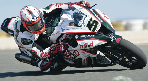 Stuart Easton's new bik will be specially tuned for the North West 200