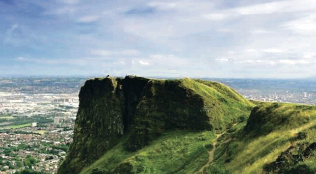 Belfast's Cavehill thought to have inspired author Jonathan Swift