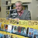 Terri Hooley in his Good Vibrations record store