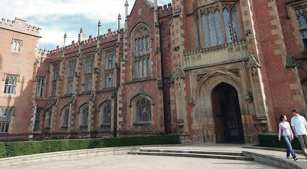 Queen's University, Belfast has fallen nine places in a national newspaper's guide for students