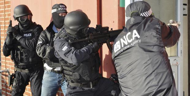 National Crime Agency will be working at full capacity in Northern Ireland from May 20