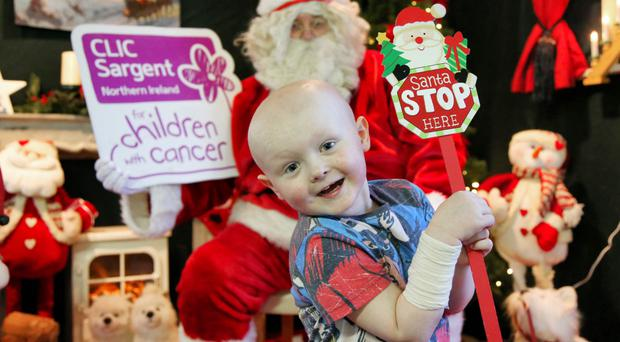Ross Patterson (5) has been supported by CLIC Sargent since he was diagnosed with acute lymphoblastic leukaemia this year