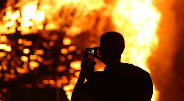 Belfast City Council distributed £141,000 to groups to host bonfires this year, but six out of the 46 groups have had funding withheld