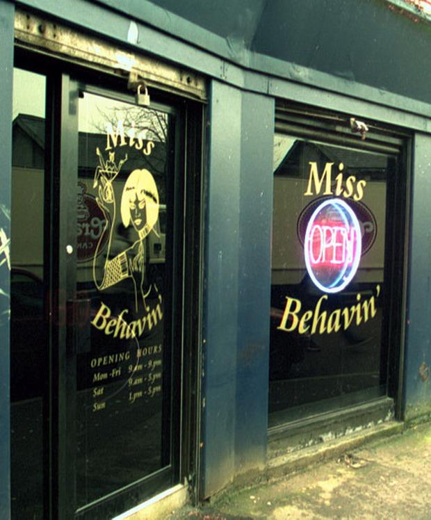 Miss Behavin sex shop in Belfast