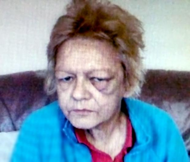 One of the last photographs of Deborah Hunter shows her bruised and battered face which, she alleged before her death, was the result of an attack last month