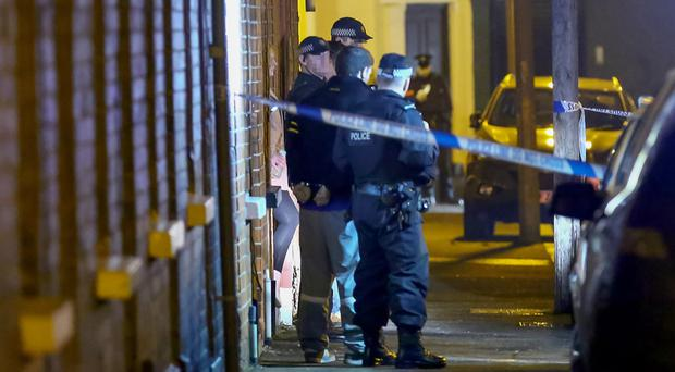 Police arrested three men in Hawthorn Street, Belfast in a follow-up operation after they stopped a taxi on the Grosvenor Road and arrested one man