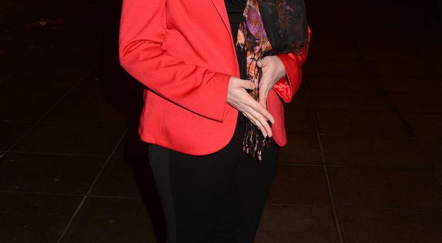 Mairia Cahill outside RTE studios where she appeared on The Saturday Night Show