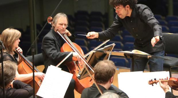 Belfast City Council has agreed to contribute £100,000 to ensure the survival of the Ulster Orchestra - but only if other bodies stump up the rest of the cash