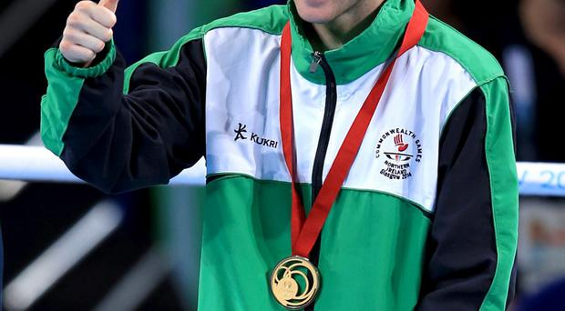 Paddy Barnes accepted an MBE in the New Year