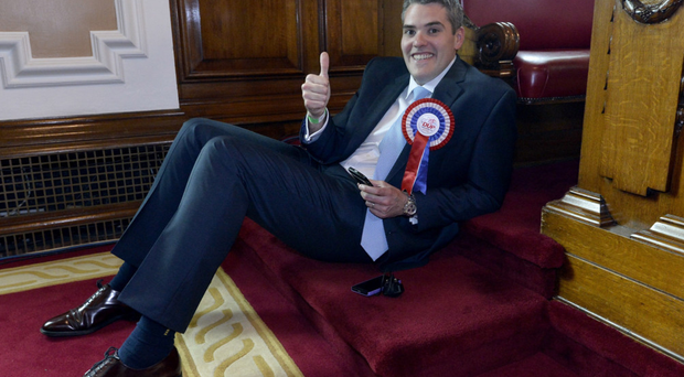 Gavin Robinson has just turned 30 but could be the next MP for East Belfast