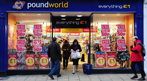 Poundworld has now removed Irish flags and bunting from sale