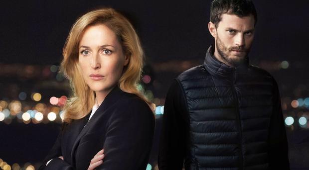 Jamie Dornan as serial killer in The Fall with Gillian Anderson as DSI Stella Gibson