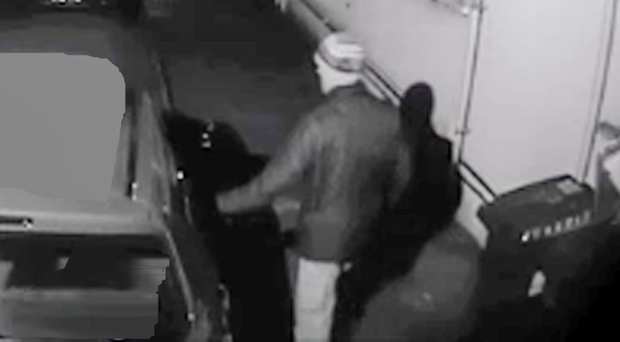 CCTV footage captures a burglar attempting to break into several homes in south Belfast in February. Two months after the evidence was handed to police, and despite a spate of burglaries nearby, there's been little sign of an investigation by police