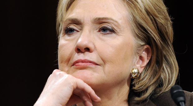 Front runner: Former first Lady Hillary Clinton has announced her campaign for president