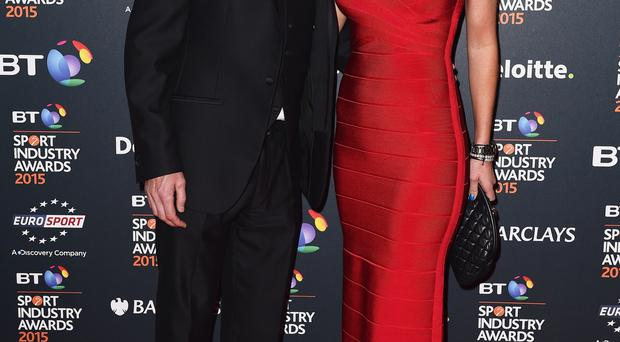 Tony McCoy and his wife Chanelle been enjoying lots of dinner dates