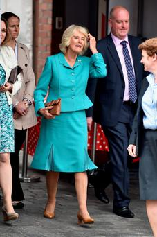 Camilla on day 1 of visit