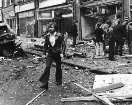 The devastation caused by the UVF bombing of Dublin's Talbot Street in 1974