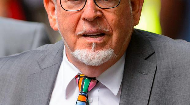 No remorse: Rolf Harris