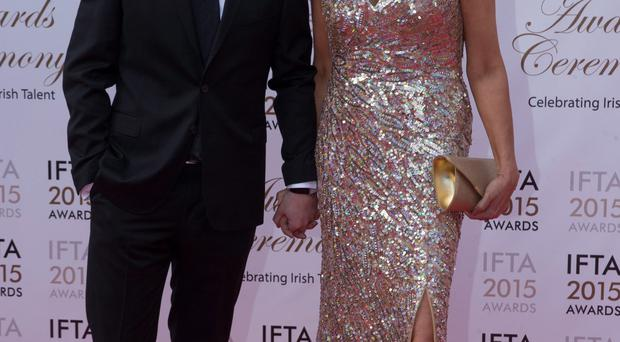 Miriam O'Callaghan steps out with husband Steve