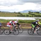 Competitors taking part in the Grand Fondo across Northern Ireland