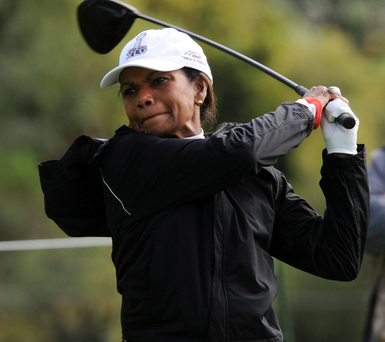 Condoleezza Rice was one of the first two female members admitted to Augusta National Golf Club in 2012