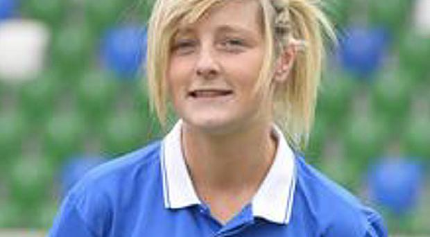Footballer Amber Dempster suffered a concussion while playing for Linfield Ladies